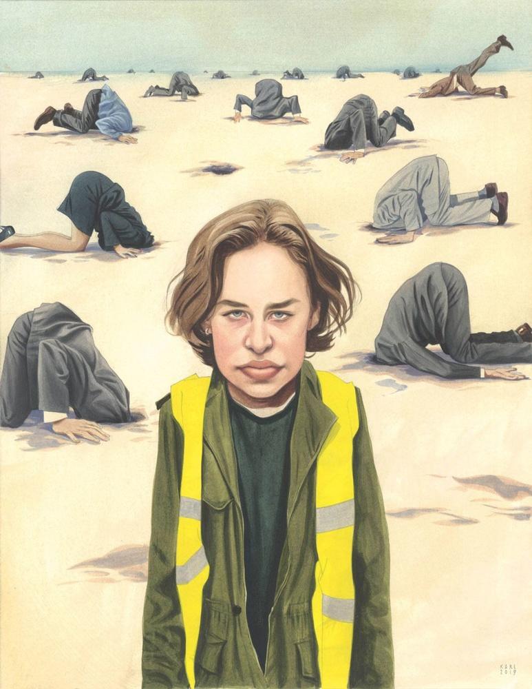 Klimaatactiviste Anuna De Wever in het politieke landschap, Karl
