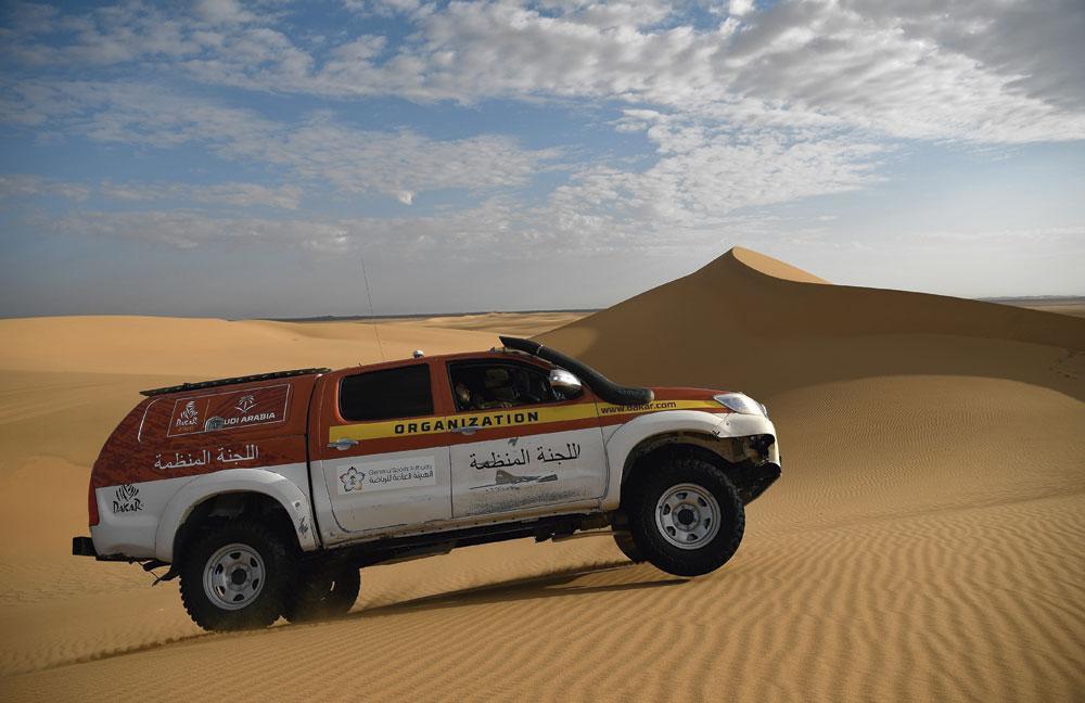 Le Dakar aura lieu en Arabie saoudite au cours des cinq prochaines années., belgaimage