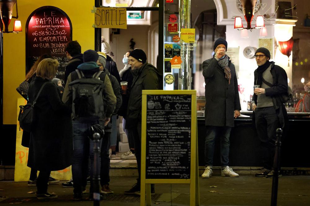Bistrots parisiens, en janvier 2021, fermés mais..., AFP