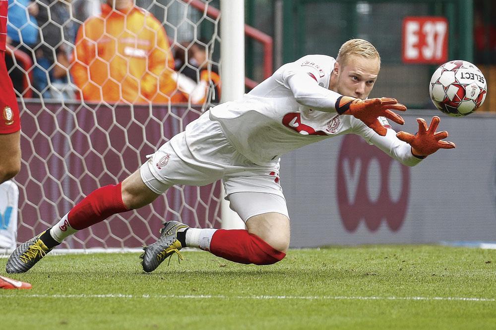 Avec 15 buts concédés, Arnaud Bodart fait partie des gardiens les plus performants de D1A., BELGAIMAGE