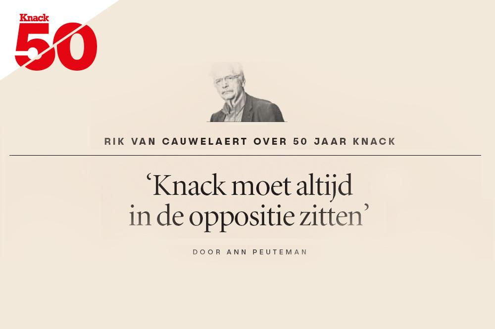 Rik Van Cauwelaert over 50 jaar Knack, Knack