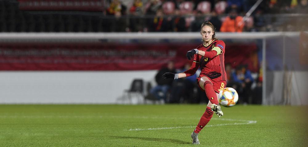 Bij de Red Flames: 'We zijn beter dan vorig jaar. Het duel tegen Zwitserland zal interessant worden.', BELGAIMAGE