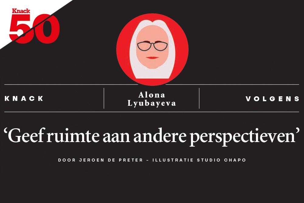Knack volgens Alona Lyubayeva., /