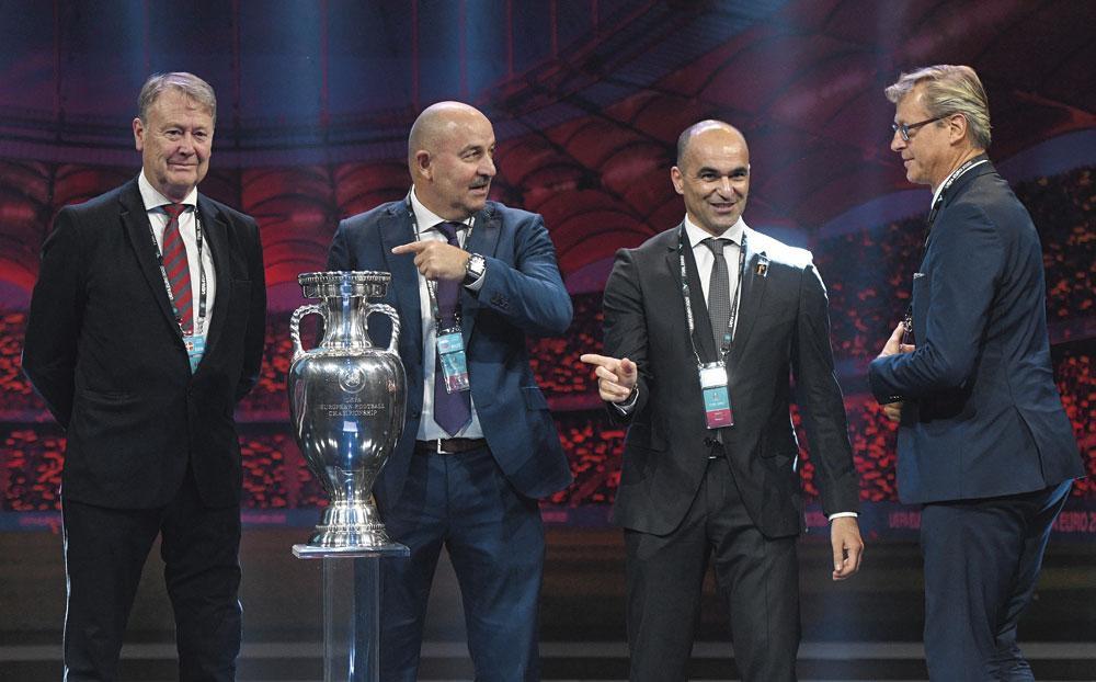 Wie neemt in juli 2020 de trofee mee naar huis: Age Hareide (bondscoach van Denemarken), Stanislav Tsjertsjesov (Rusland), Roberto Martínez of Markku Kanerva (Finland)?, belgaimage