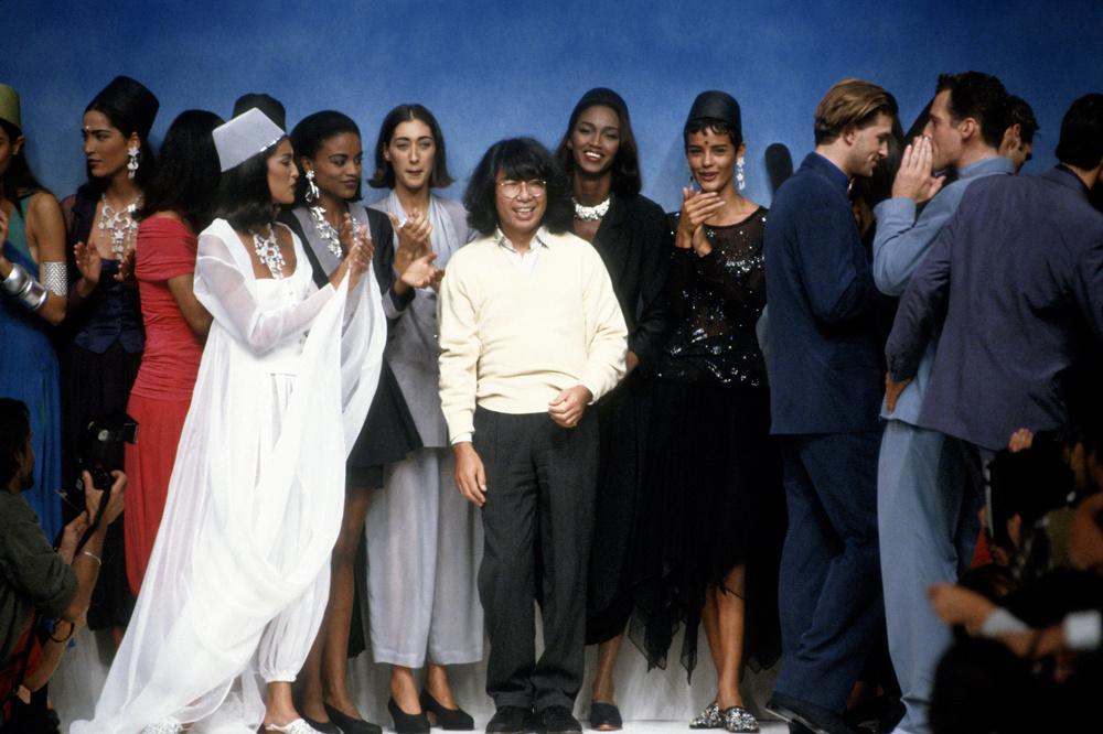 Final de défilé en 1991, Getty Images