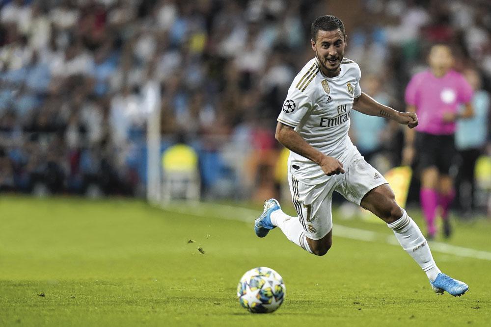 Après des débuts compliqués, Eden Hazard semblait s'imposer au Real Madrid avant d'être momentanément mis sur la touche à cause d'une blessure., getty