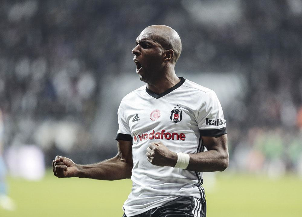 Dankzij Babel pakte Besiktas in 2017 de titel., GETTY