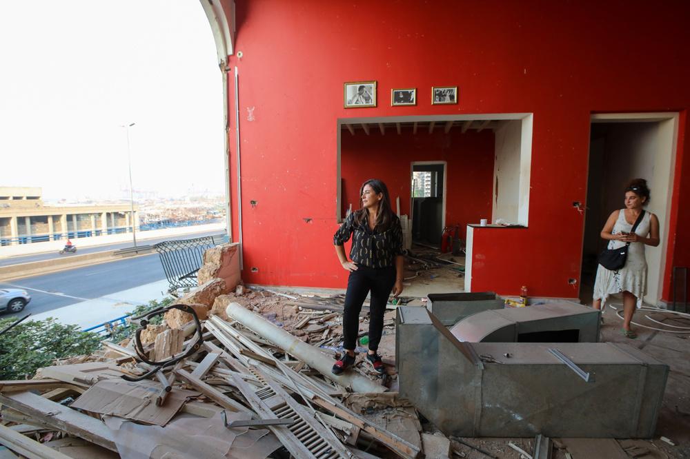 Madame Om, institution beyroutine dévastée, AFP