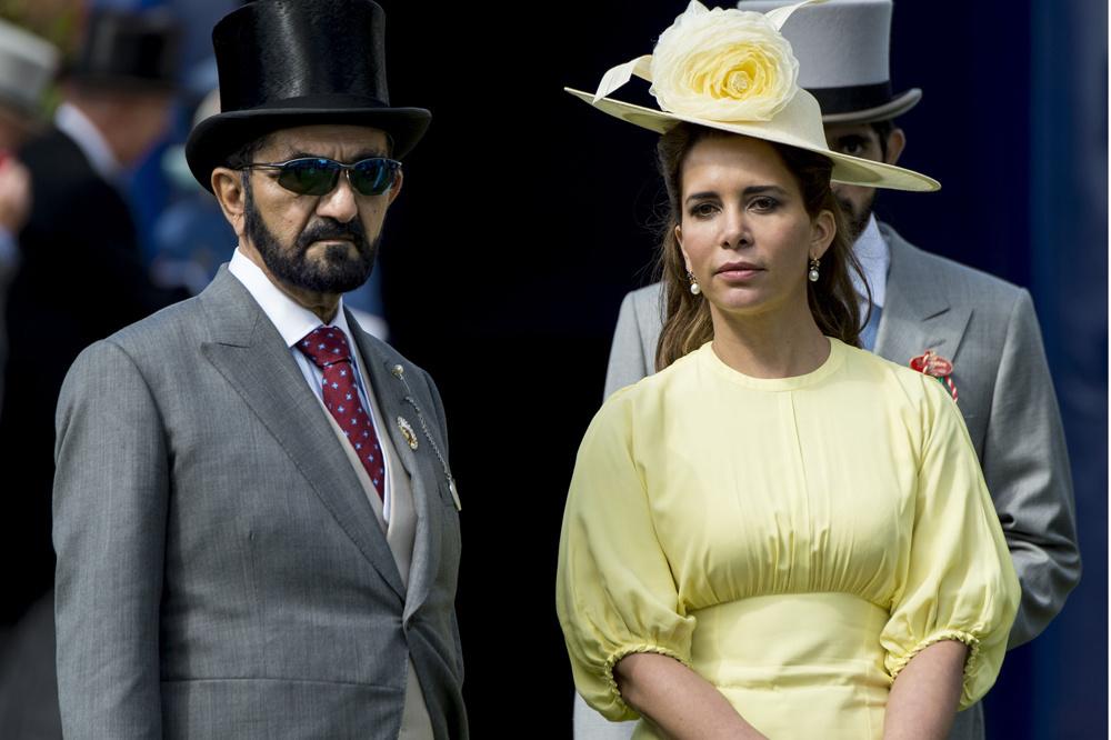 Le Cheikh Mohammed ben Rached al-Maktoum et la princesse Haya en Grande Bretagne en 2017, Getty Images