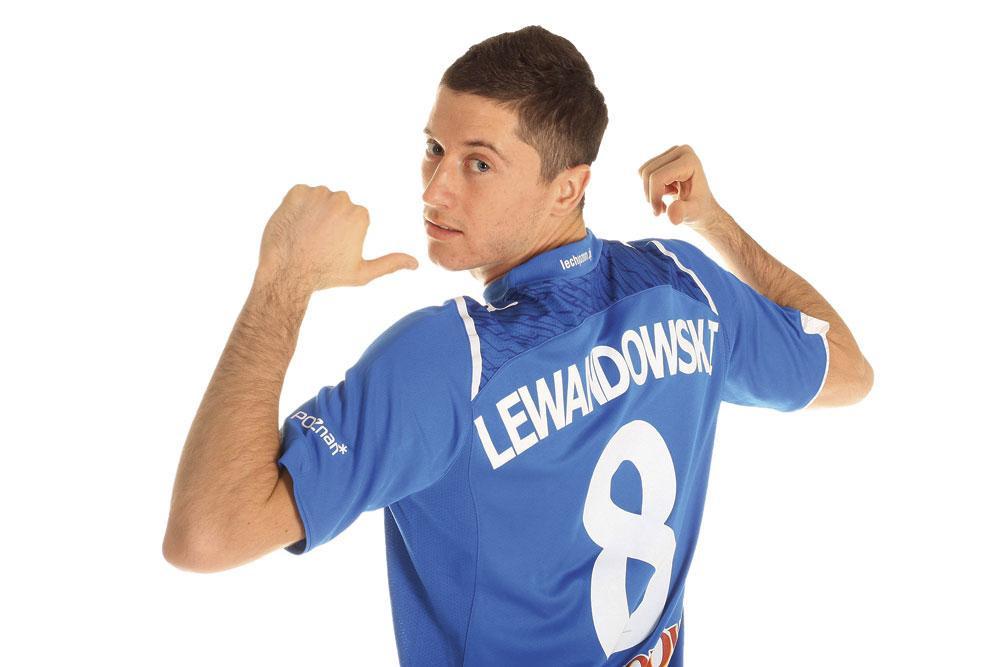 De 2008 à 2010, Robert Lewandowski a défendu les couleurs de Lech Poznan., belgaimage