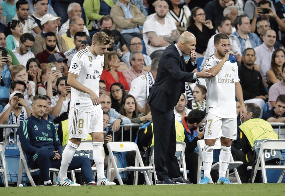 Zidane en Hazard delen dezelfde levensvisie: de familie komt voor alles., BRICMONT