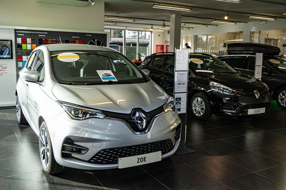Renault is met de ZOE pionier op het vlak van elektrische aandrijving.
