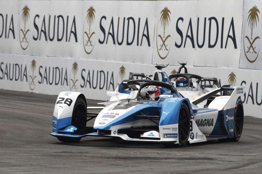 La Saudi Arabian Motor Federation a signé un accord de dix ans avec la Formule E., belgaimage
