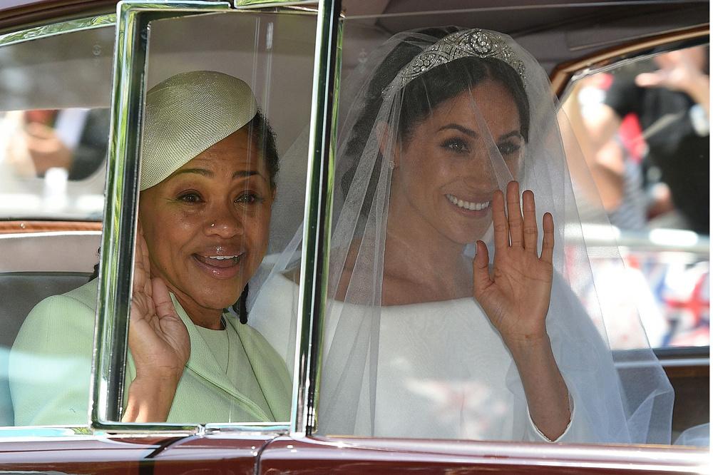 Meghan Markle et sa mère Doria Ragland, le jour du mariage royal le 19 mai 2018., Getty Images