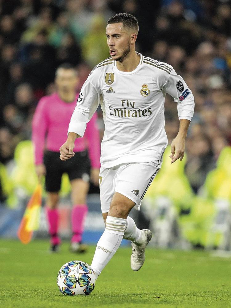 """Eden Hazard : """" La seule chose qui me chagrine un peu, jusqu'ici, au Real, ce sont mes stats. """", BELGAIMAGE"""