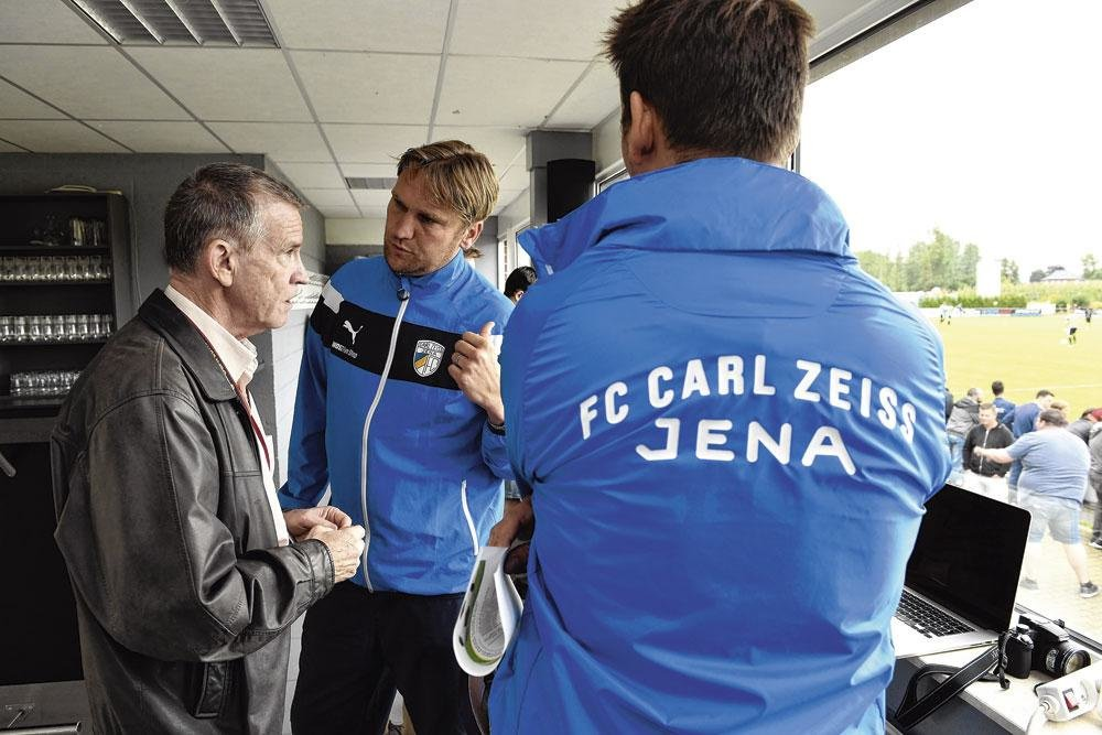 Roland Duchâtelet  n'est pas à la fête avec  Carl-Zeiss Iéna. Le club est actuellement dernier au troisième échelon de la Bundesliga., BELGAIMAGE