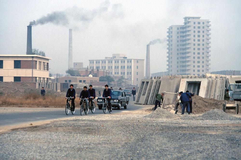 CHINA Dit jaar zal de Chinese CO2-uitstoot volgens de verwachtingen met 3 procent toenemen., Getty Images
