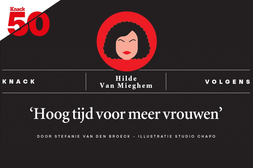 Knack volgens Hilde Van Mieghem., /