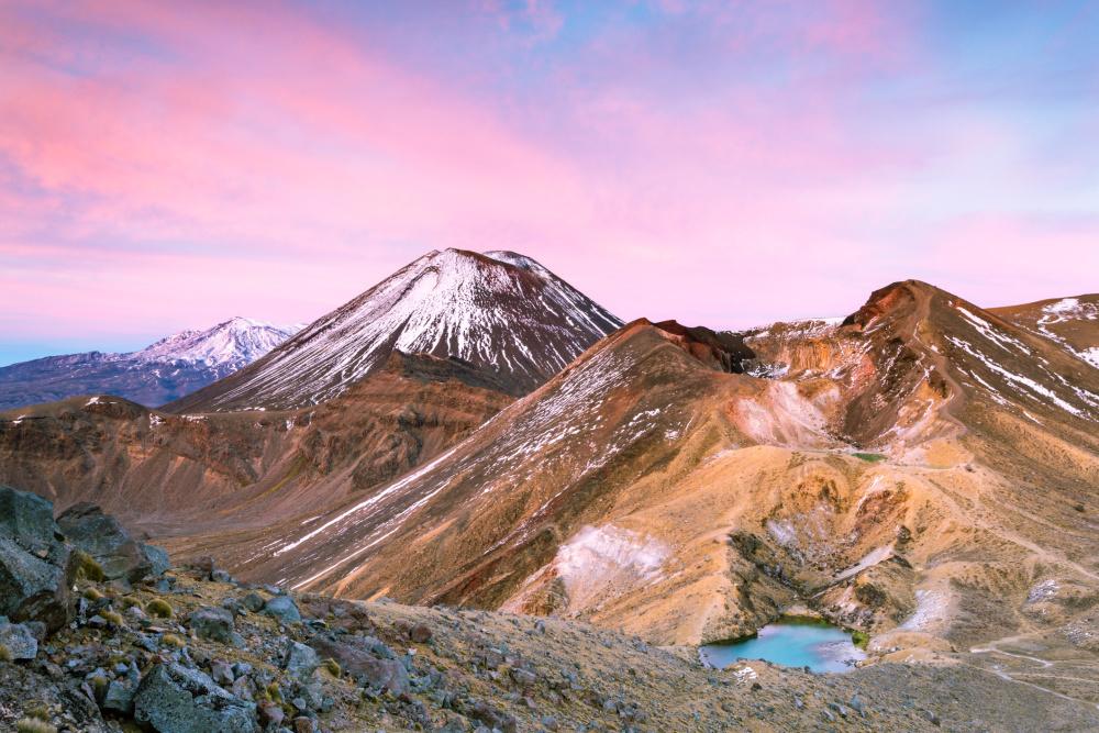 Tongariro Northern Circuit, Getty Images