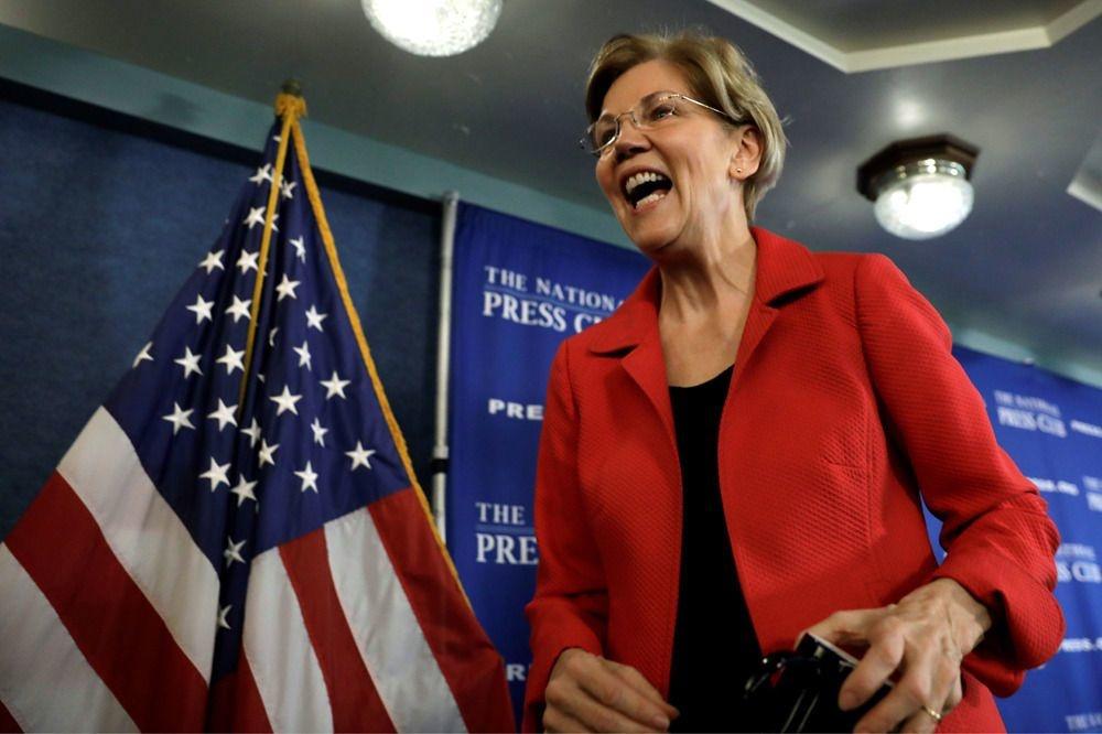 Elizabeth Warren, REUTERS