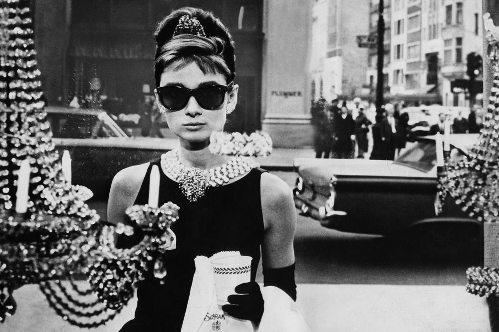 Audrey Hepburn, dans Breakfast at Tiffany, de Blake Edwards, 1960, Getty Images