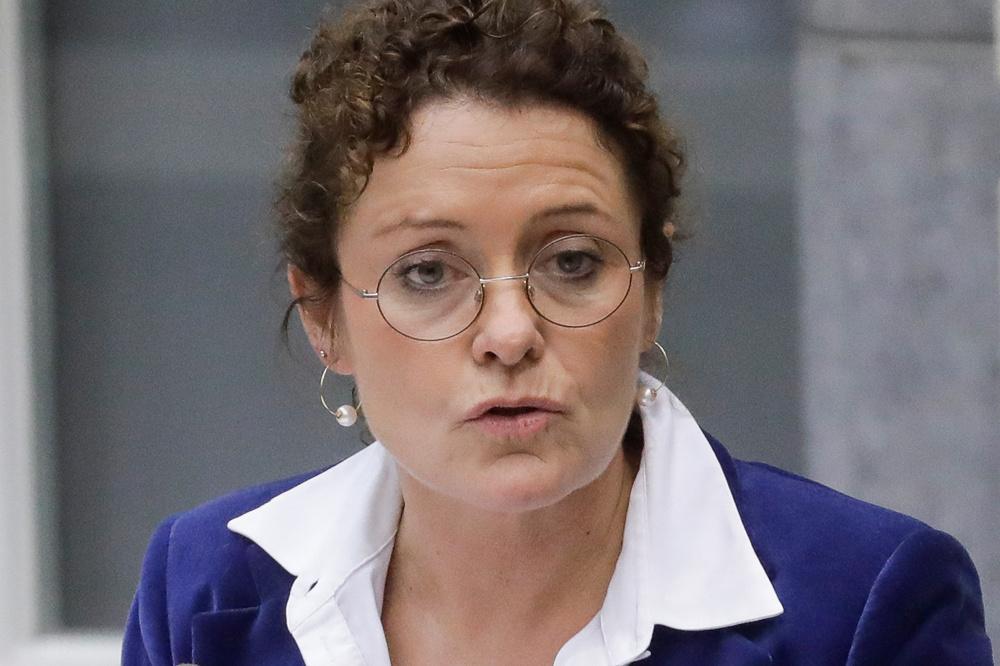 Vlaams minister Lydia Peeters (Open VLD) op 23 oktober 2019., Belga