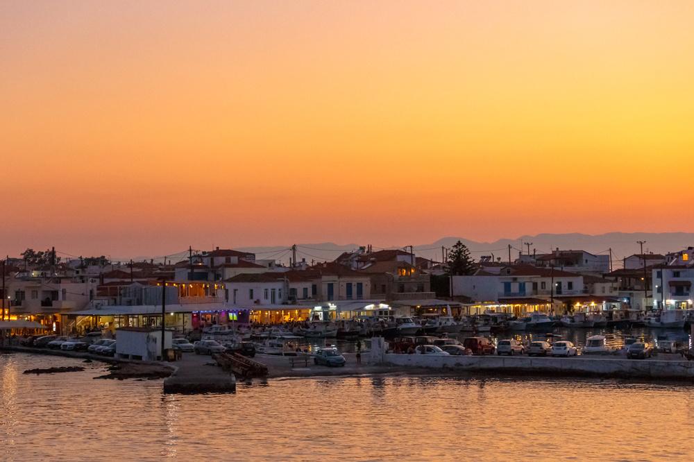 Port de Pounta en Grèce, Getty Images