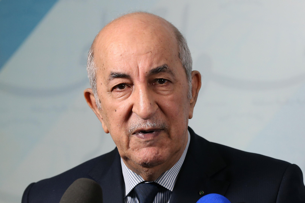 Abdelmadjid Tebboune, AFP