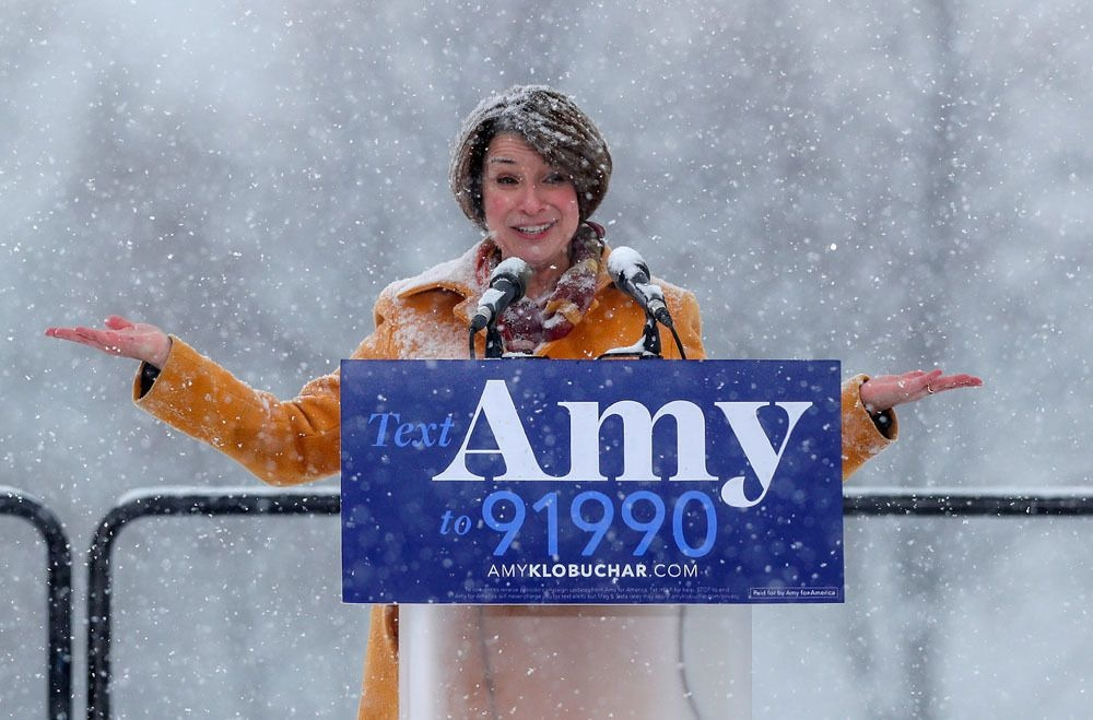 Amy Klobuchar, REUTERS