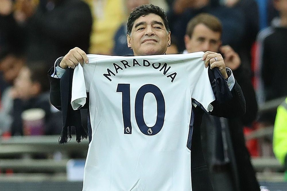 Diego Maradona, ISOPIX