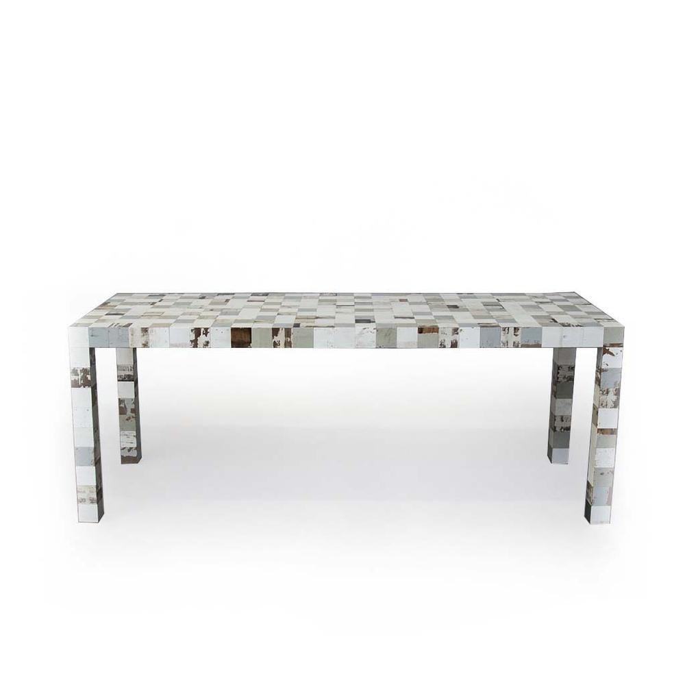 La table en matériaux de récupération de Piet Hein Eek, Piet Hein Eek