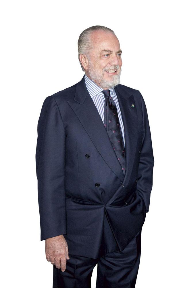 Aurelio De Laurentiis, l'excentrique président napolitain., BELGAIMAGE