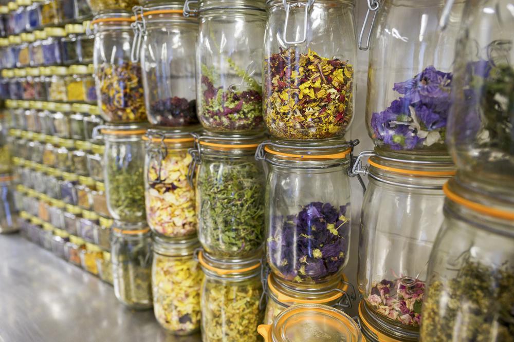 Les plantes récoltées, prêtes à être utilisées en cuisine, AFP