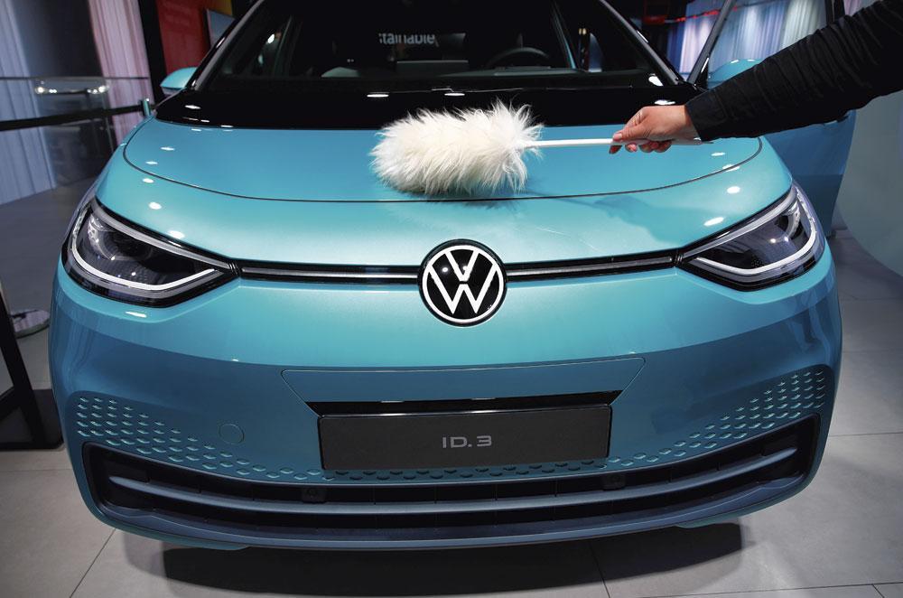 VOLKSWAGEN ID.3 Wordt het elektrische paradepaardje van Volkswagen Groep., Reuters