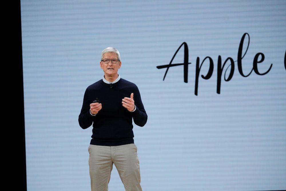 Apple-topman Tim Cook, reuters
