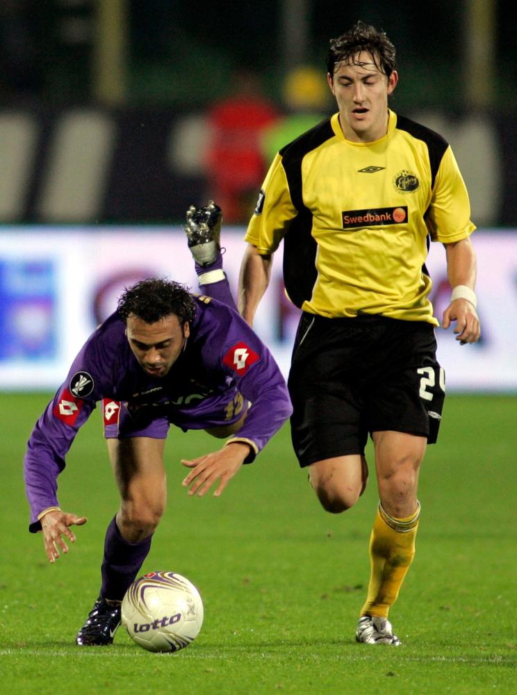 Anthony Vanden Borre trébuche avec la Fiorentina., reuters