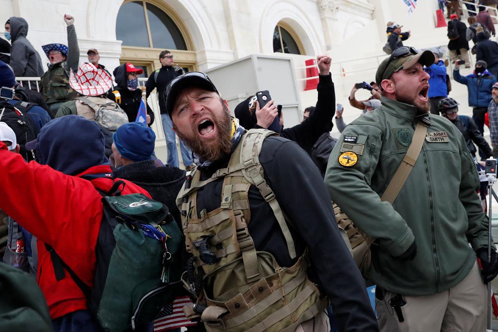 Pro Trump à l'assaut du Capitole, le 6 janvier 2021, Reuters