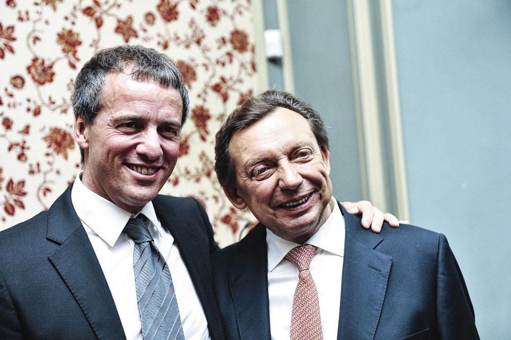 Stéphane Moreau et Michel Daereden, NICOLAS LAMBERT/belgaimage