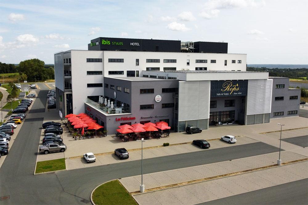 Le studio Ecolys est situé au sein du bâtiment Actibel, à Namur., DR