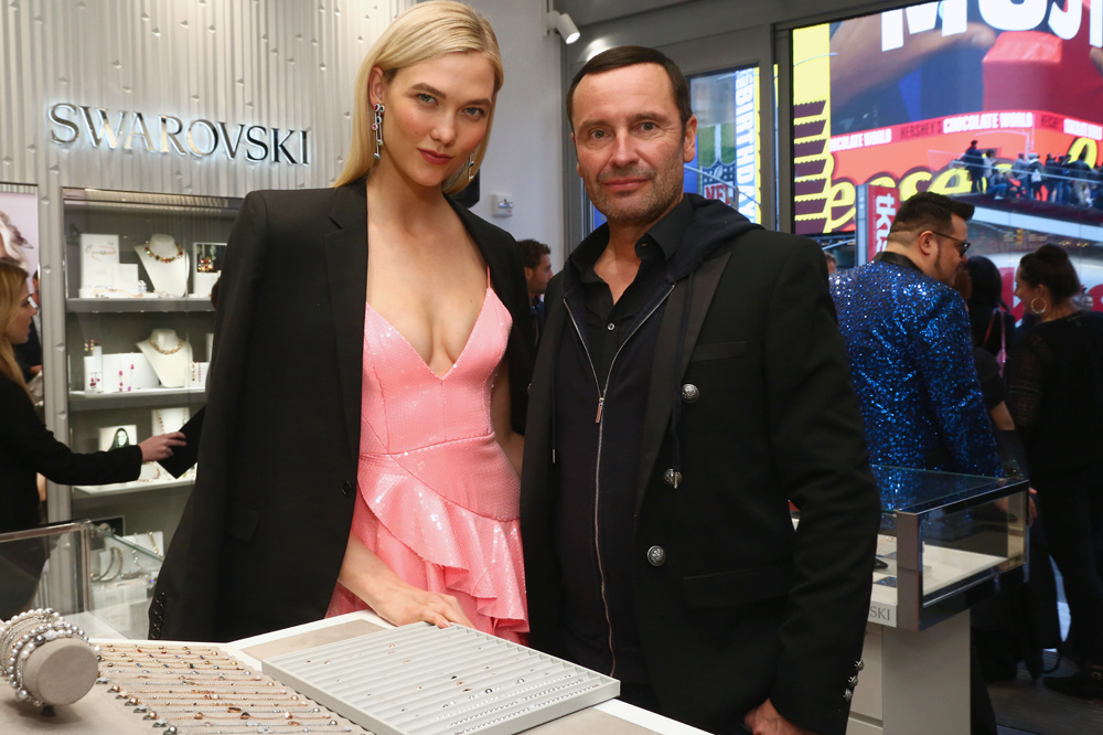 Robert Buchbauer et Karlie Kloss, Getty Images
