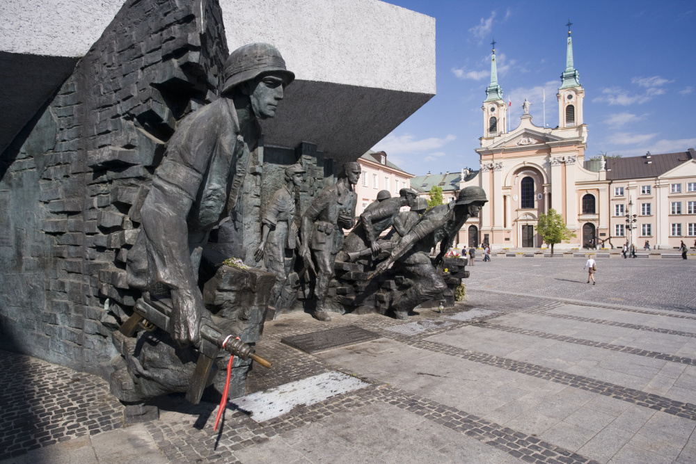 Monument Opstand van Warschau, Getty Images