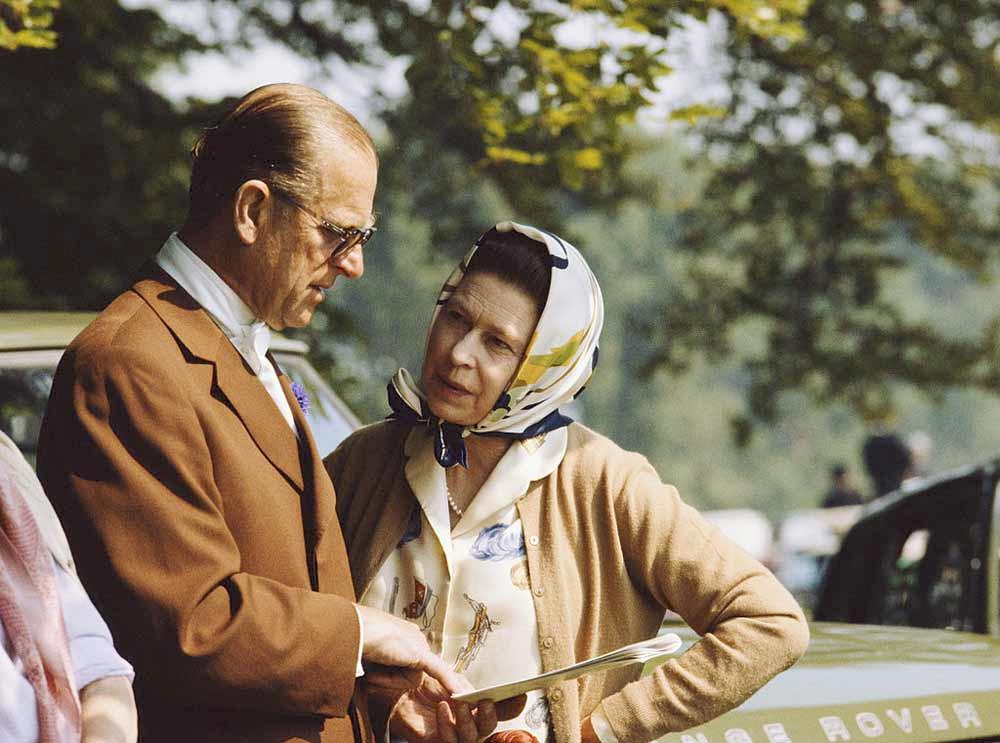 Le prince Philip et la reine , Getty