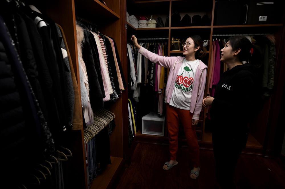 Mme Chen, une cliente satisfaite, AFP