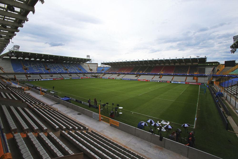 Op de site van Jan Breydel blijven was voor Club Brugge de snelste weg om aan een nieuwe arena te geraken., BELGAIMAGE