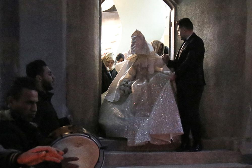 Mariage dans la Bande de Gaza , AFP