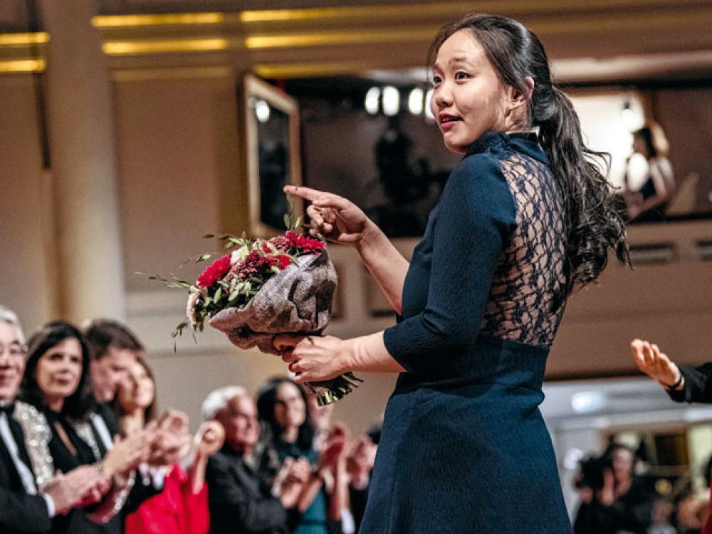 Stella Chen, lauréate 2019, PHILIP REYNAERS/PHOTO NEWS