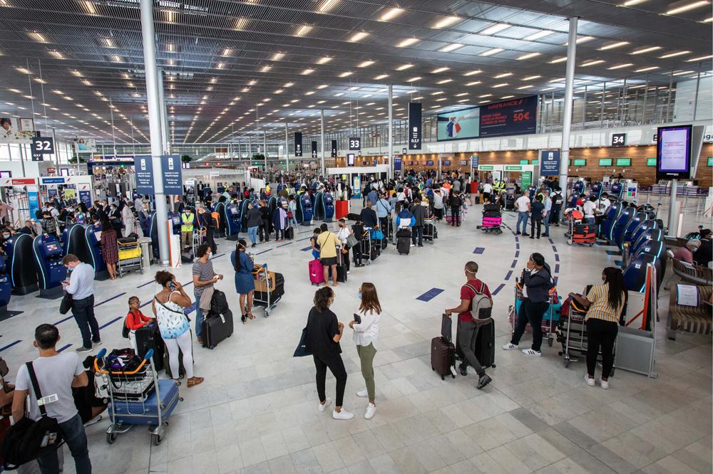aéroport d'Orly, Paris, juin 2020, Belga Images