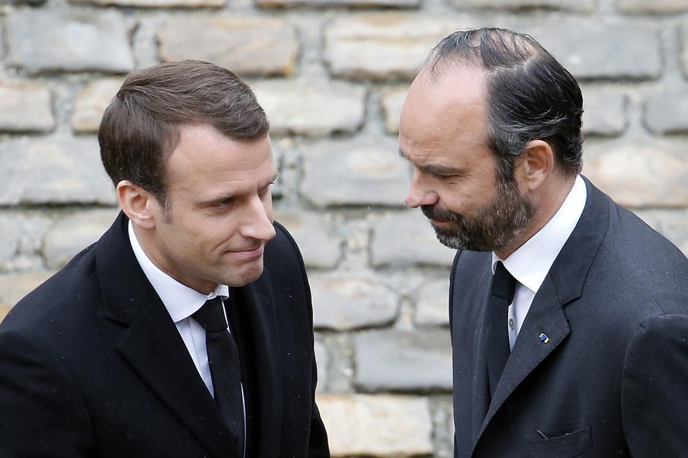 Emmanuel Macron et son Premier ministre Edouard Philippe, Getty Images