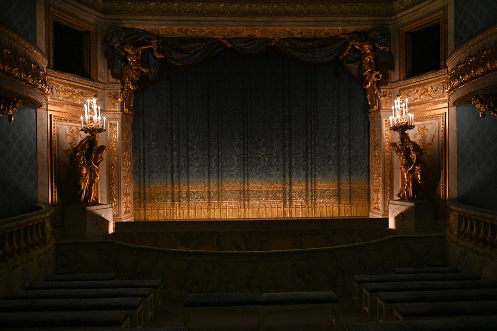 Le théâtre de la Reine, AFP