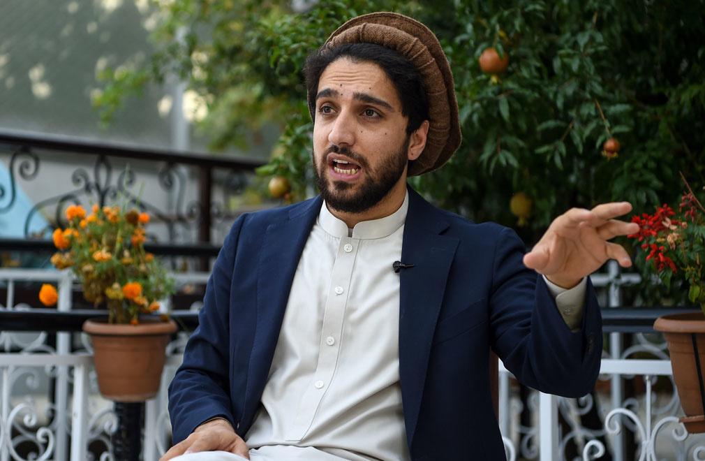 Ahmad Massoud, le fils du commandant Massoud., Belga